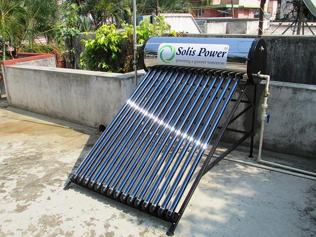 Un chauffe-eau solaire chez vous, quels avantages ?